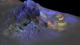 Hallazgo de vidrio exótico en Marte podría ayudar a desentrañar los misterios del planeta