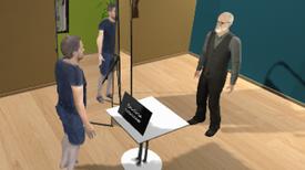 Hablar con un avatar de Freud ayuda a levantar el ánimo