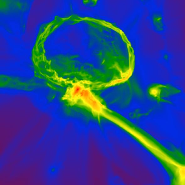 Hallan indicios de la composición de las primeras estrellas del universo
