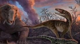 Los primeros dinosaurios aparecieron poco después de sus precursores