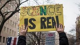 Marcha por la ciencia fue fijada para el Día de la Tierra