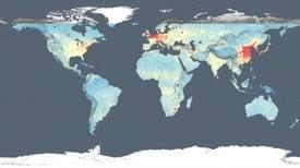 NASA crea mapa global de la calidad del aire