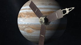 Juno llega a Júpiter