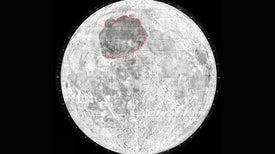 Nuevos datos sobre un gigantesco cráter lunar