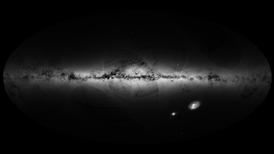 El satélite Gaia traza un mapa de la Vía Láctea con más de mil millones de estrellas