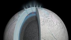 El océano subterráneo de Encélado esconde aguas termales