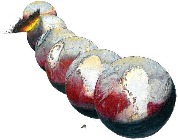 El corazón de hielo de Plutón puede estar escondiendo un océano