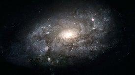 Una espectacular espiral podría rodear la Vía Láctea