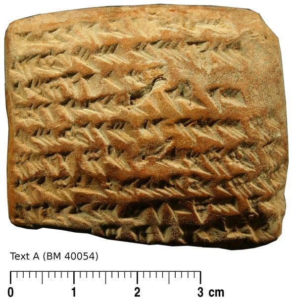 Los antiguos babilonios rastreaban a Júpiter con geometría avanzada