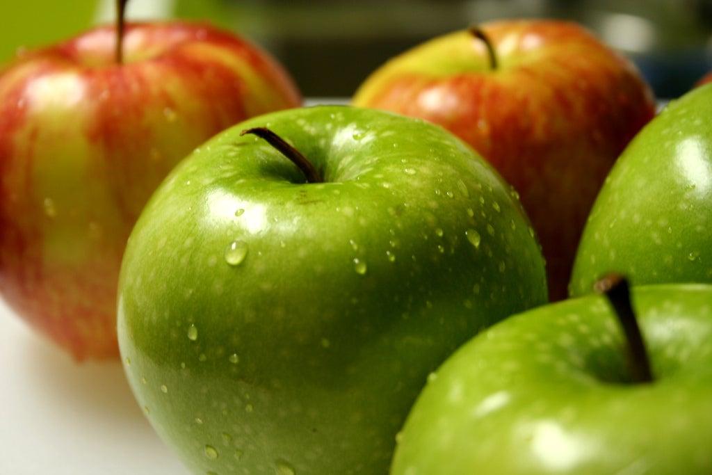 la manzana es saludable ingles