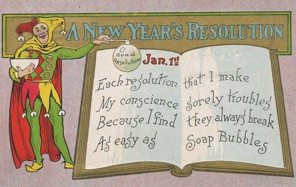 ¿Por qué creemos que podemos mantener las resoluciones de Año Nuevo?