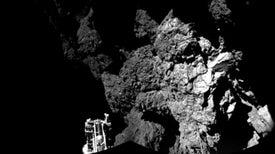 Philae envía sus datos científicos antes de irse a dormir