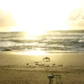 Puesta de sol sobre