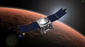 ¿Qué nos enseñará la sonda MAVEN sobre Marte?