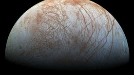 La 'mugre marrón' de Europa sugiere la presencia de un mar salado