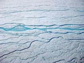 Nuevos ríos de agua helada en Groenlandia preocupan a científicos