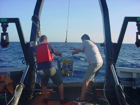 En las profundidades del Caribe científicos desentrañan los secretos del clima