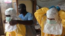 Brote de ébola retrocede, asegura la OMS