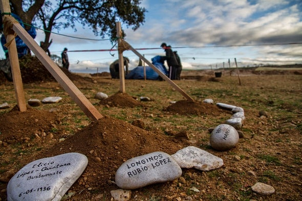 Recopilando el testimonio genético de los muertos de la Guerra Civil española