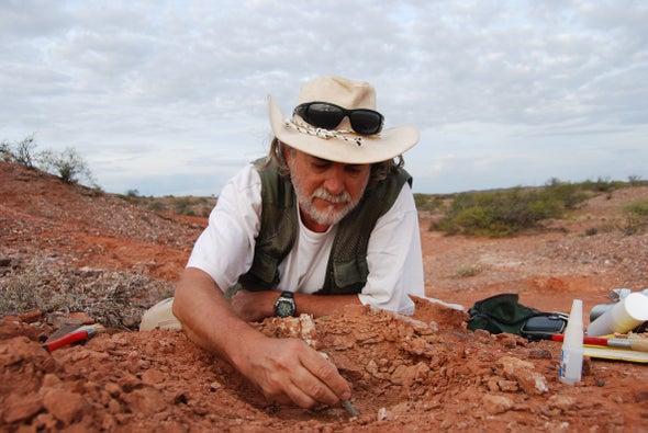 Yacimiento en Argentina narra la historia de los primeros dinosaurios