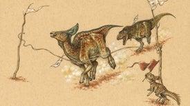 El hadrosaurio corría más que el tiranosaurio rex