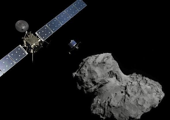 Philae, el robot que se posó en un cometa, dice adiós