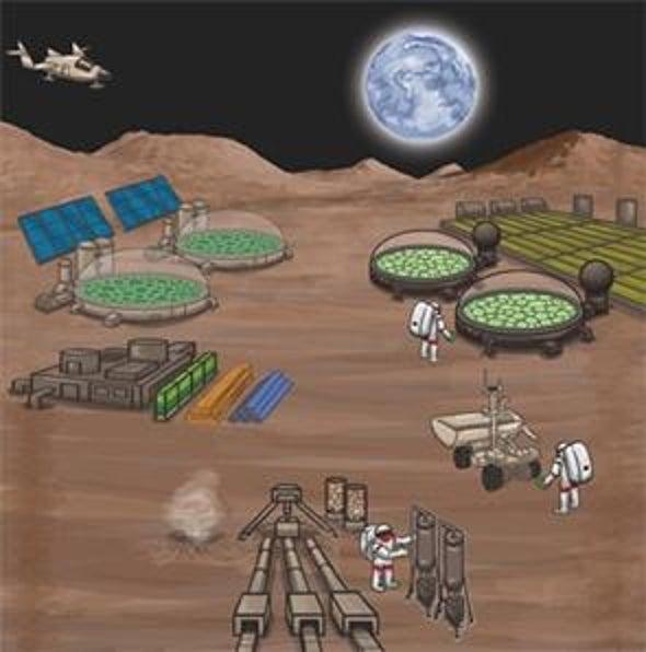 Los astronautas llegarán a Marte gracias a los microbios
