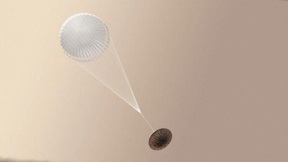 Emergen más datos sobre el descenso de la nave europea a Marte
