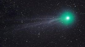 Un cometa surca los cielos estas noches de enero