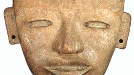 Haz de electrones revela orígenes de las caras de piedra de Teotihuacán