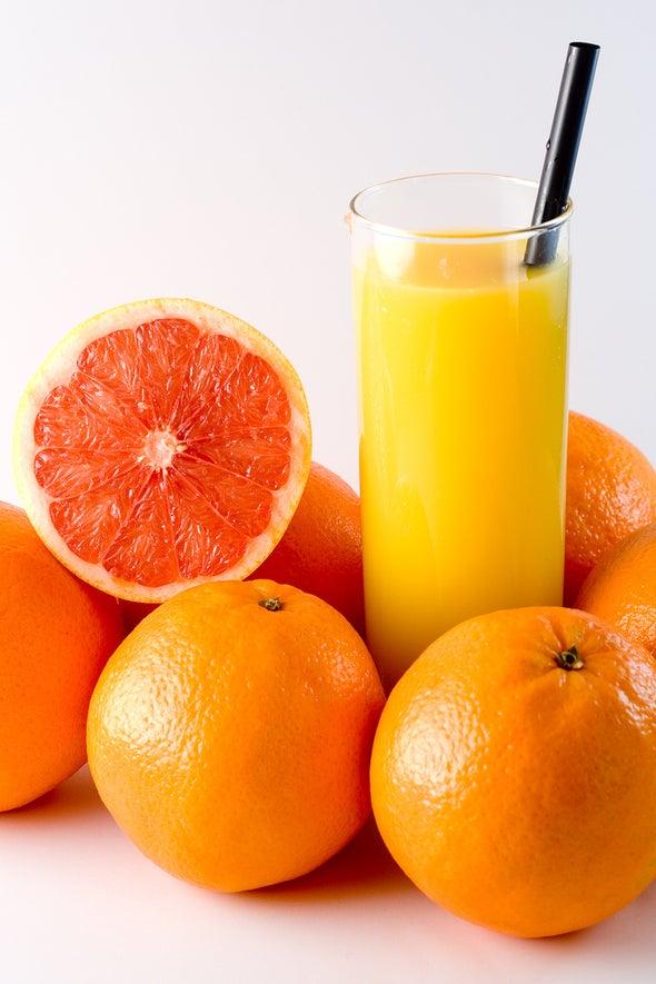 La capacidad antioxidante del jugo naranja es mayor de lo pensado