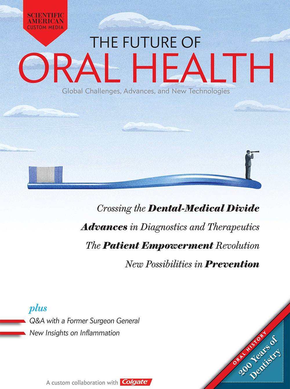The Future of Oral Health: Global Challenges, Advances, and New Technologies