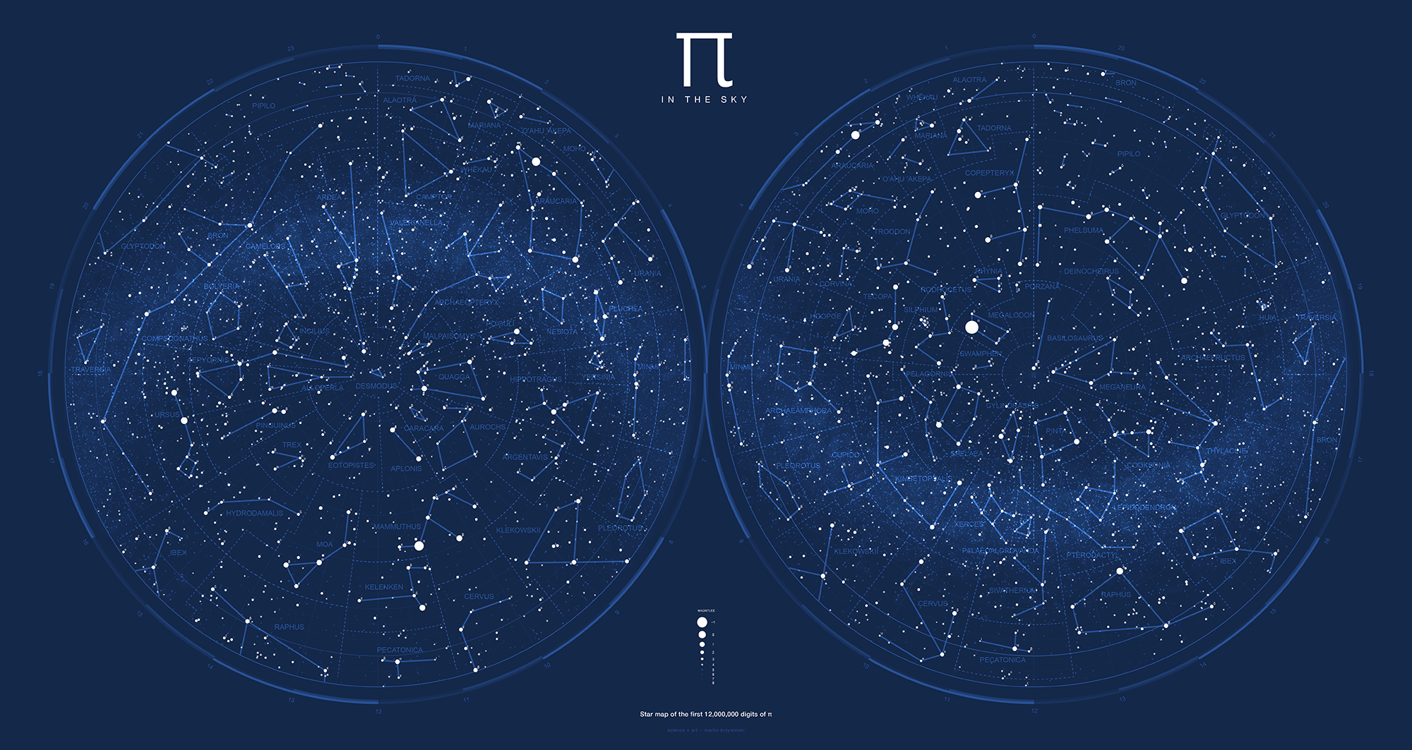 Sky Star Map.Pi In The Sky Scientific American Blog Network