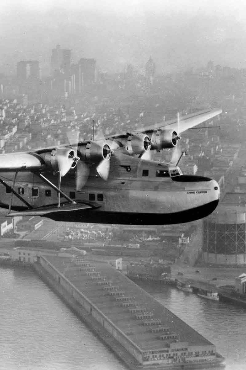 PanAm's seaplane