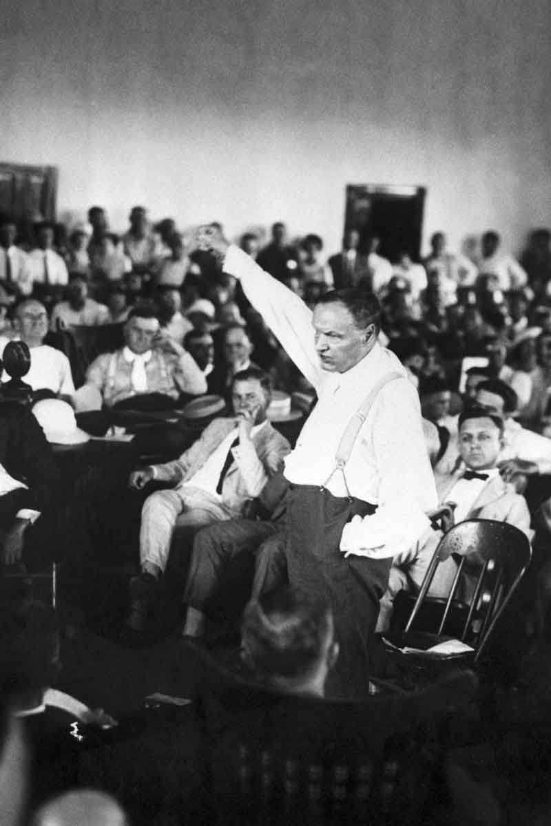 Clarence Darrow at the Scopes Trial