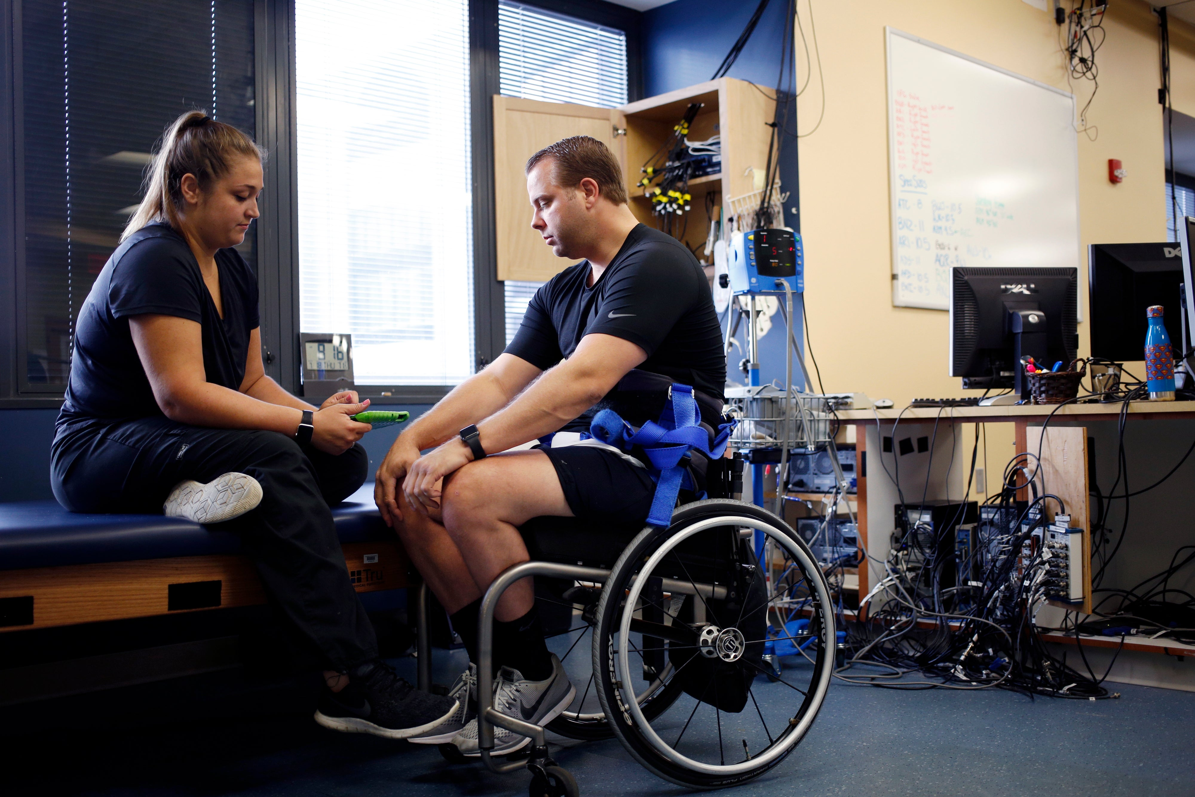 Making love with her hot paralyzed legs How A Revolutionary Technique Got People With Spinal Cord Injuries Back On Their Feet Scientific American