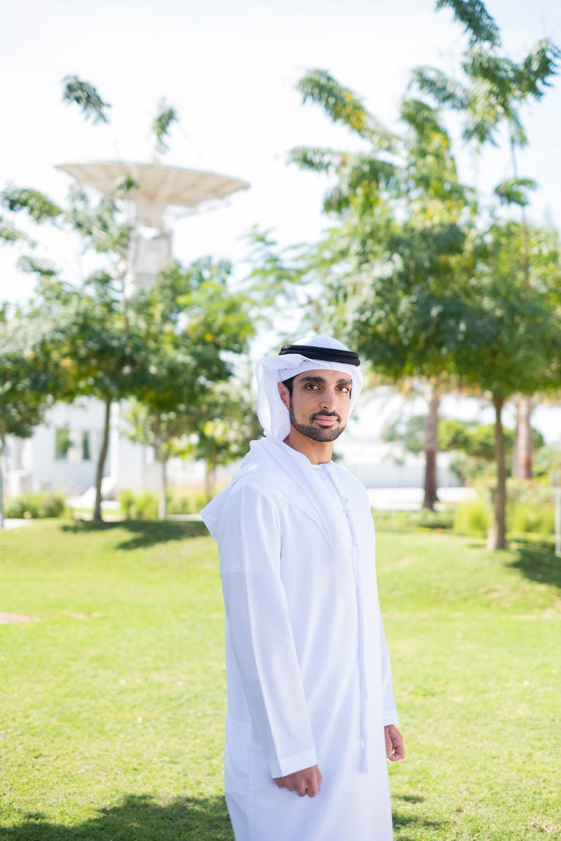 Omran Sharaf at The Mohammed Bin Rashid Space Centre