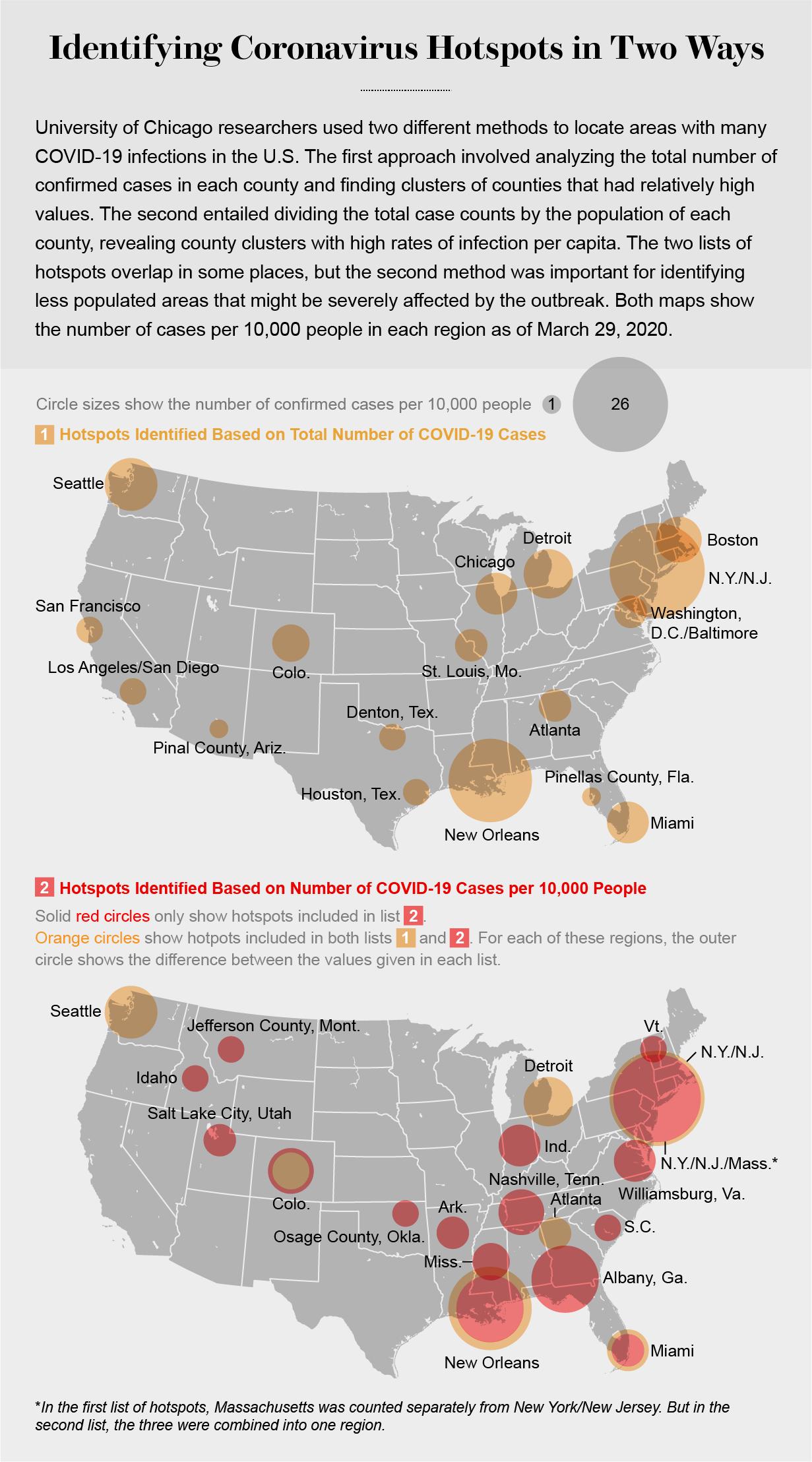 Map Reveals Hidden U S Hotspots Of Coronavirus Infection Scientific American