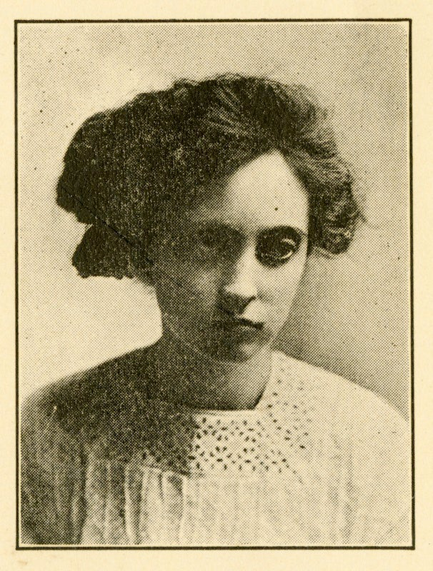 Lucille Hart from the 1911 Albany College Yearbook.