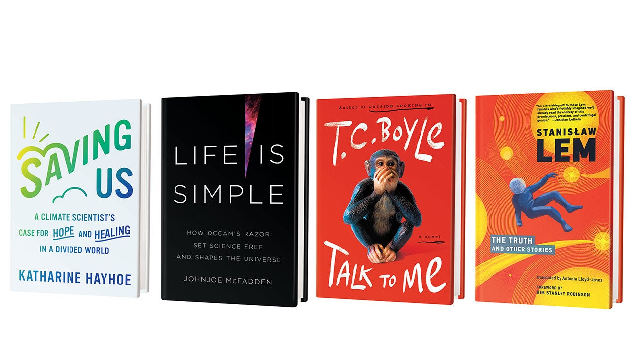 Scientific American September 2021 book recommendations.