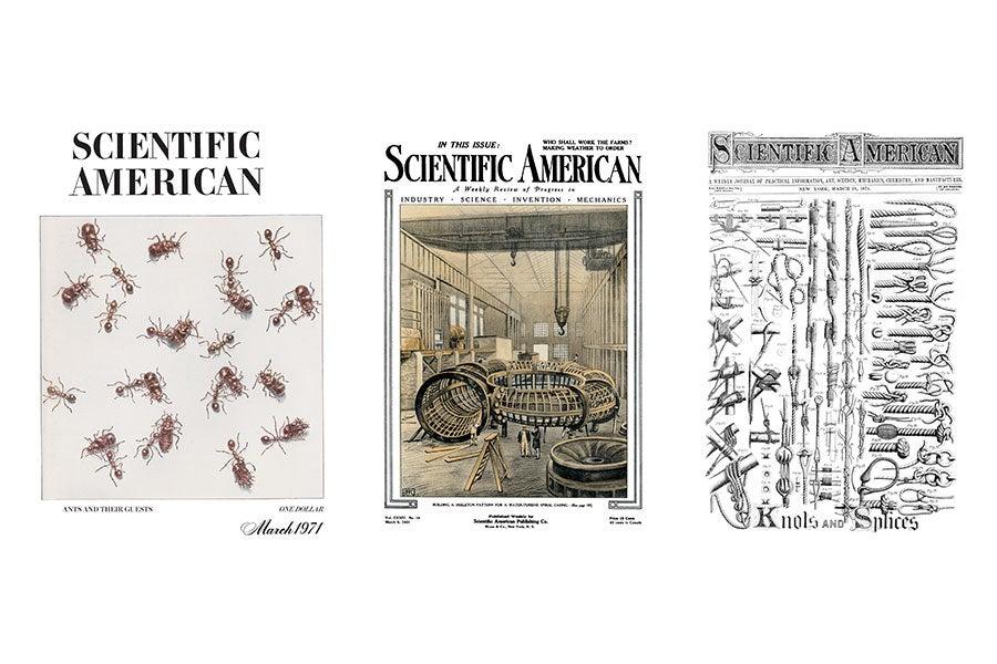 Scientific American Archive Covers