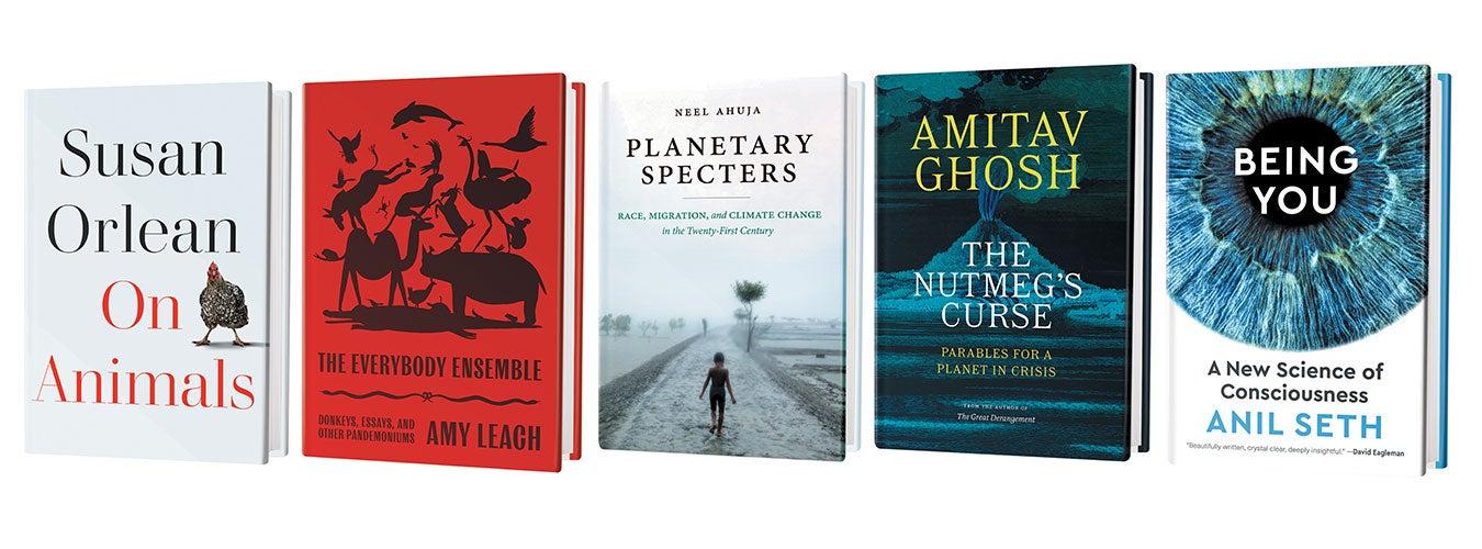 Scientific American Oct 2021 book recommendations.