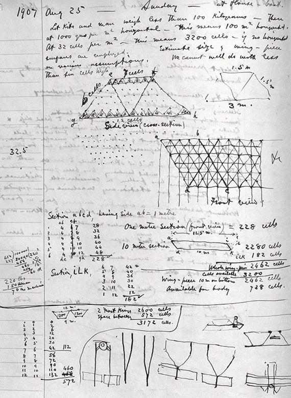Alexander Graham Bell's designs for tetrahedral kites