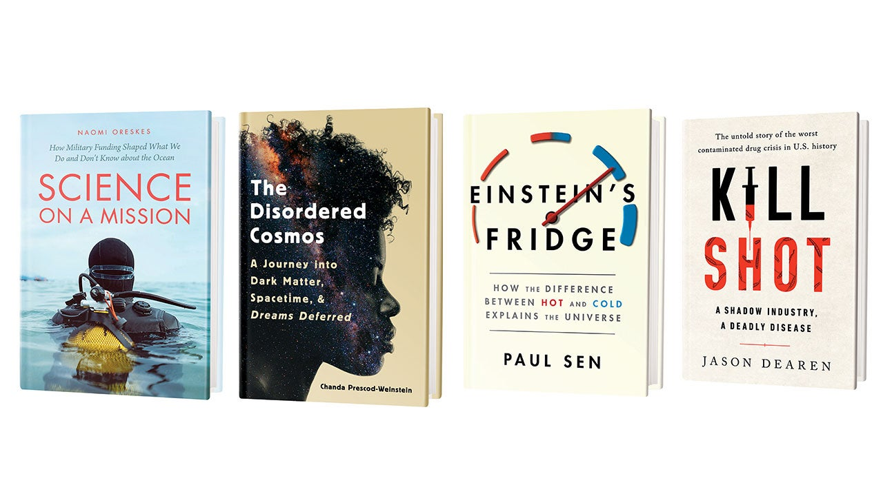 Scientific American March 2021 Book Recommendations