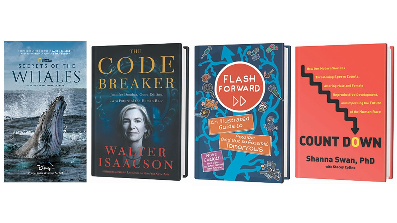 Scientific American April 2021 book recommendations.