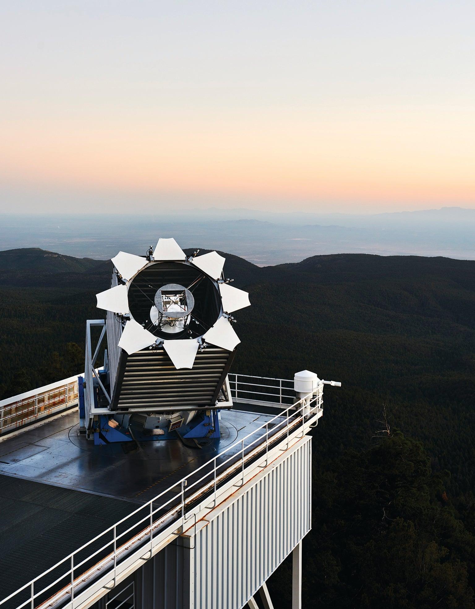Sloan Foundation 2.5-meter Telescope.