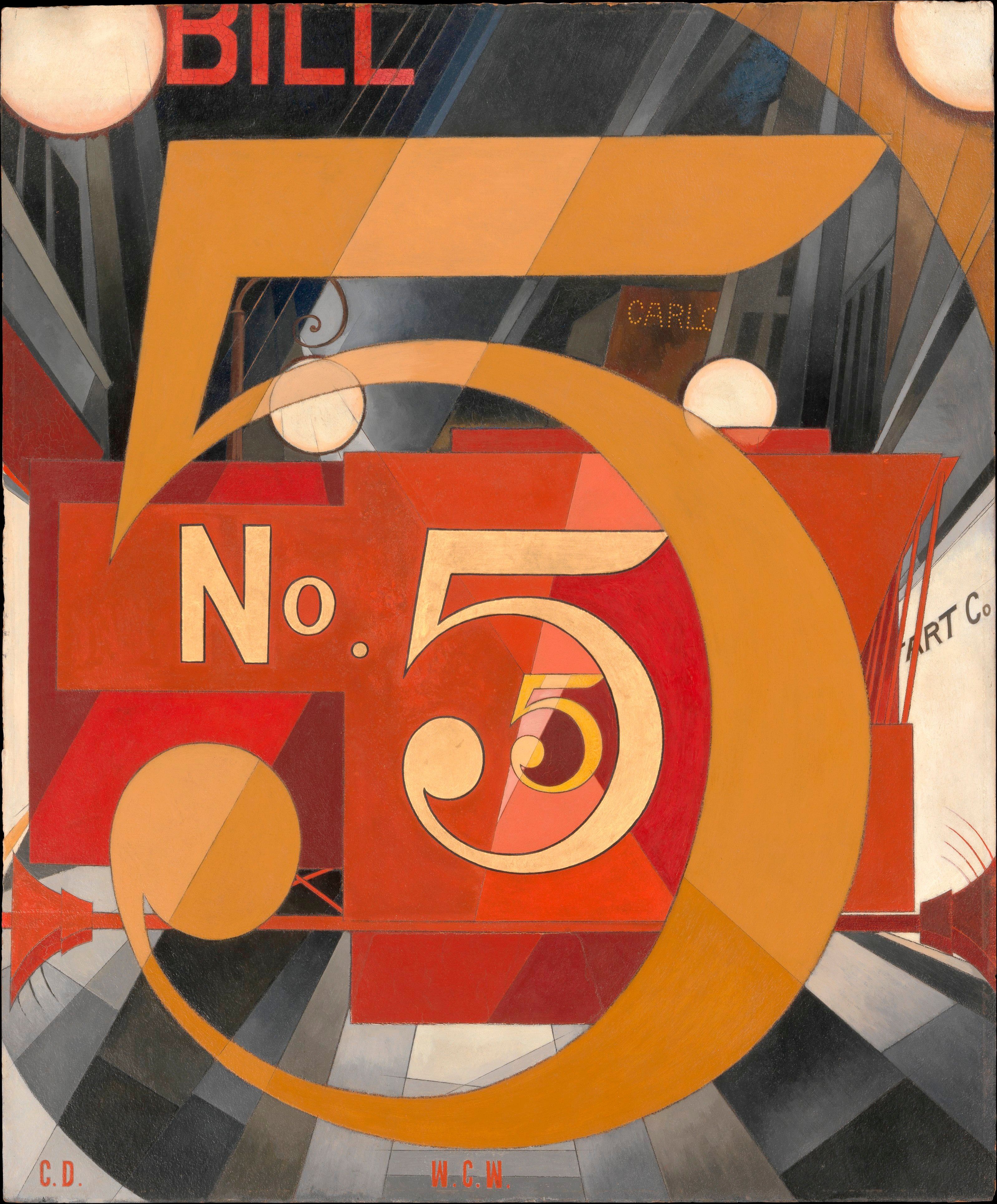 Math At The Met Scientific American More Information About Dog Origami Diagram On Site Http Static Figure 5 In Gold Charles Demuth 18831935 1928 Alfred Stieglitz Collection 1949 Accession Number 49591 Metmuseumorg