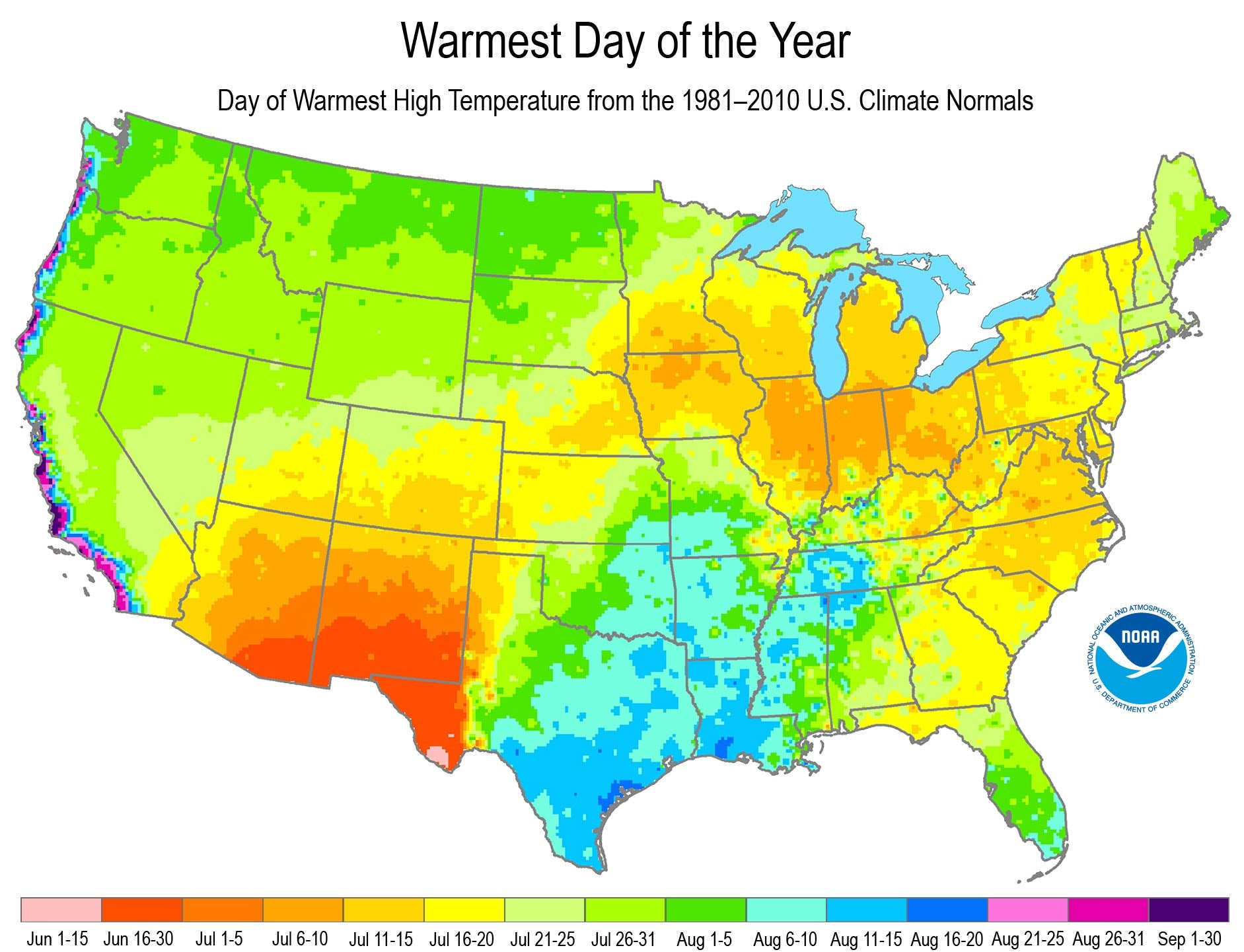 Las Not Just Sizzling Its Sultry Why Californias July Heat - Us-map-la