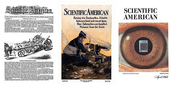 issue covers from 50, 100 and 150 years ago
