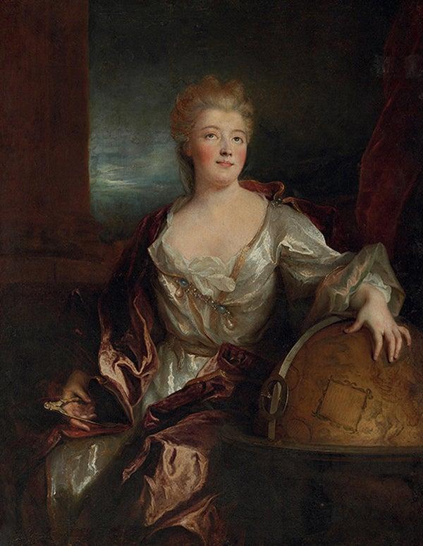 Portrait of Gabrielle-milie le Tonnelier de Breteuil, Marquise du Chtele, Nicolas de Largillire
